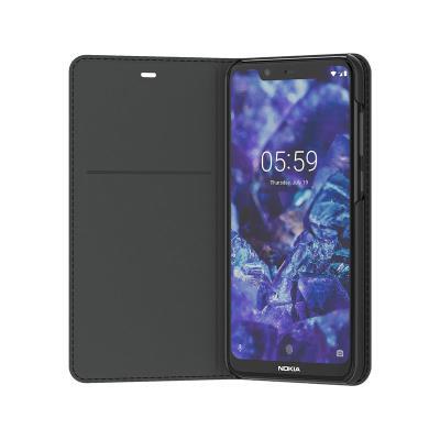 Flip Cover Original Nokia 5.1 Plus Black (CP-251)