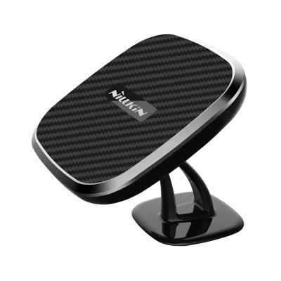 Magnetic Wireless Car Charger For Car Panel Black