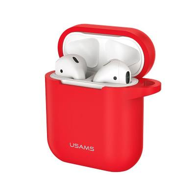 Capa Silicone USAMS Apple AirPods Vermelha (BH423)