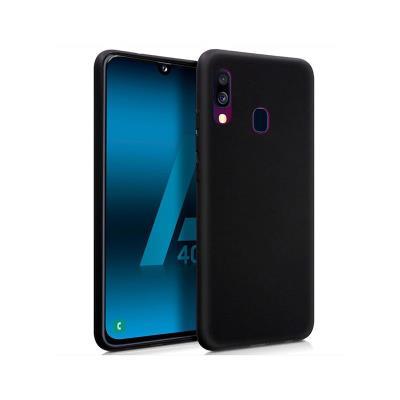 Silicone Cover Samsung A40 A405 Black