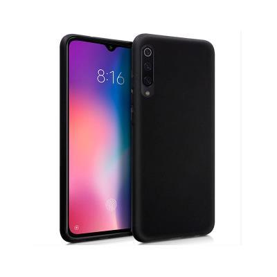 Funda Silicona Xiaomi Mi 9 Negra