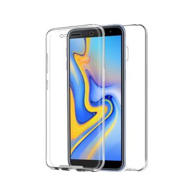 Capa Silicone Frente e Verso Samsung J6 Plus 2018 J610 Transparente
