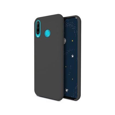 Silicone Cover Premium Huawei P30 Lite Black