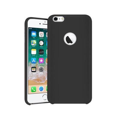 Funda Silicona Premium iPhone 7/8 Negra