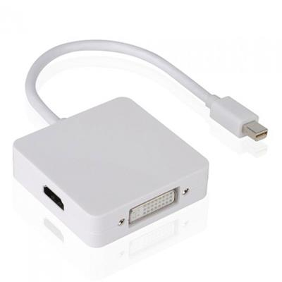 Mini DisplayPort adapter for DVI and HDMI