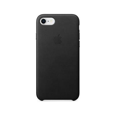 Leather Cover Apple Original iPhone 7/8 Black