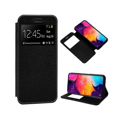 Flip Cover Samsung A50 A505 Black