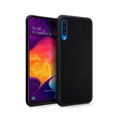 Funda Silicona Samsung Galaxy A50 A505 Negra