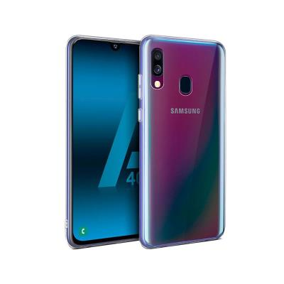 Silicone Cover Samsung Galaxy A40 A405 Transparent