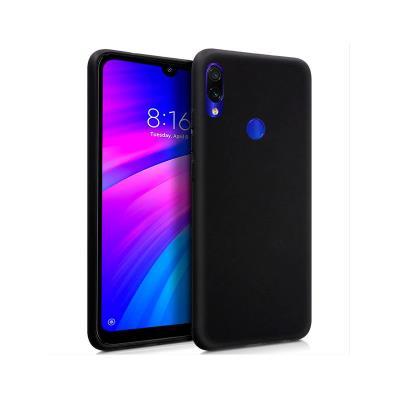 Capa Silicone Xiaomi Redmi 7 Preta