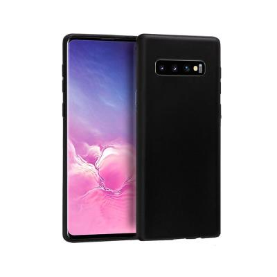 Silicone Cover Samsung Galaxy S10 G973 Black