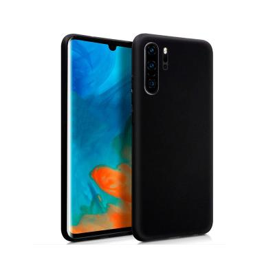 Silicone Cover Huawei P30 Pro Black
