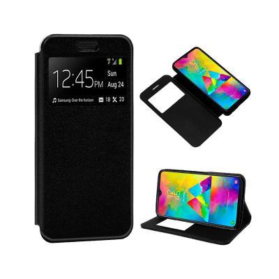 Capa Flip Cover Samsung M20 M205 Preta