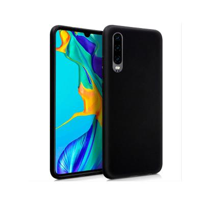 Silicone Cover Huawei P30 Black