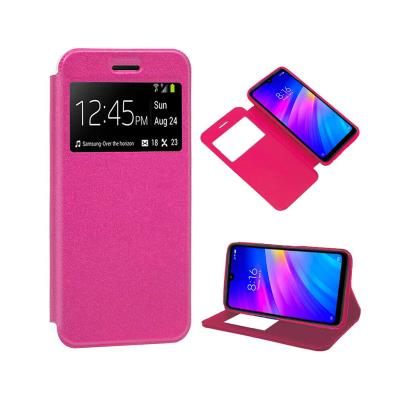 Funda Flip Cover Xiaomi Redmi 7 Rosa