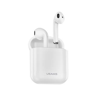 Auriculares Bluetooth USAMS Dual Stereo Branco
