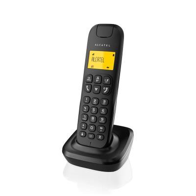 Telefone Fixo Alcatel D135 Preto
