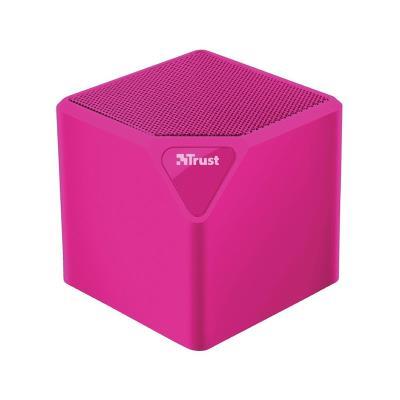Coluna Bluetooth Trust Primo Rosa
