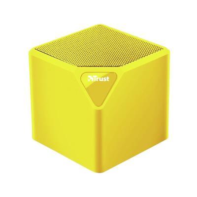 Coluna Bluetooth Trust Primo Amarela