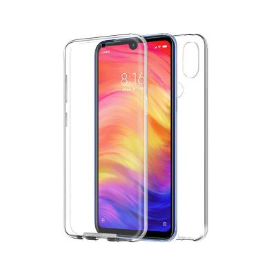 Funda Silicona 360º Xiaomi Redmi Note 7 Transparente