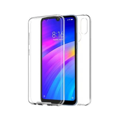 Capa Silicone Frente e Verso Xiaomi Redmi 7 Transparente