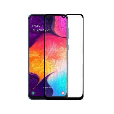 Película de Vidrio Temperado Samsung Galaxy A50 A505 Fullscreen Negra