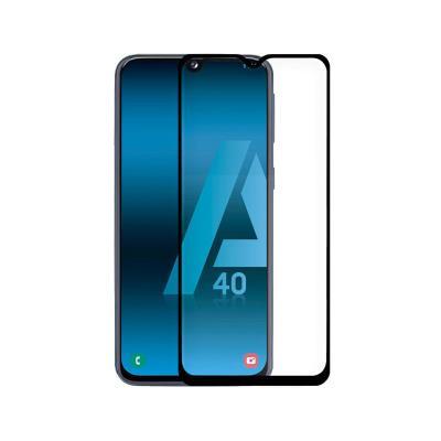 Película de Vidrio Temperado Samsung Galaxy A40 A405 Fullscreen Negra