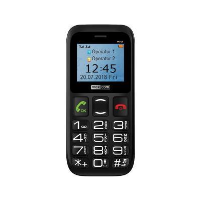 Telemóvel Maxcom MM426 Dual SIM Preto