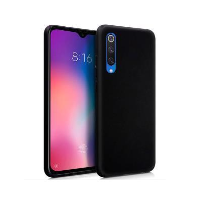 Funda Silicona Xiaomi Mi 9 SE Negra