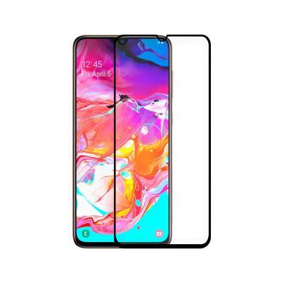 Película de Vidrio Temperado Samsung A70 2019 A705 Fullscreen Negra