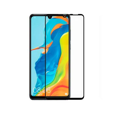 Película de Vidro Temperado Huawei P30 Lite Fullscreen Preta