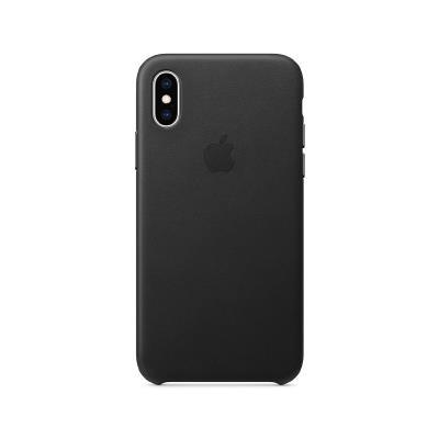 Capa pele Original Apple iPhone X/XS Preta (MRWM2ZM/A)