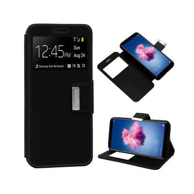 Funda Flip Cover Huawei P Smart Negra