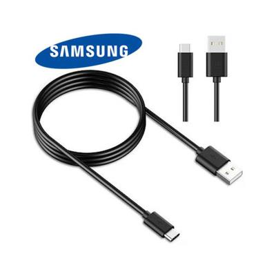 Data Cable Samsung S10 Type C Black (EP-DG970BBE)