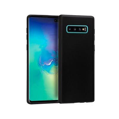 Funda Silicona Samsung Galaxy S10 Plus Negra