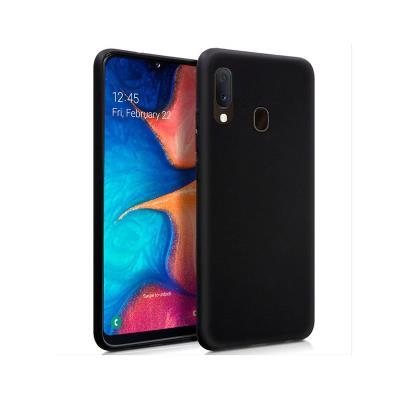 Silicone Cover Samsung Galaxy A20e Black