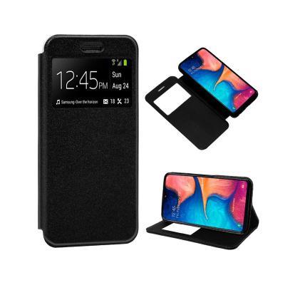 Capa Flip Cover Samsung A20e A202 Preta