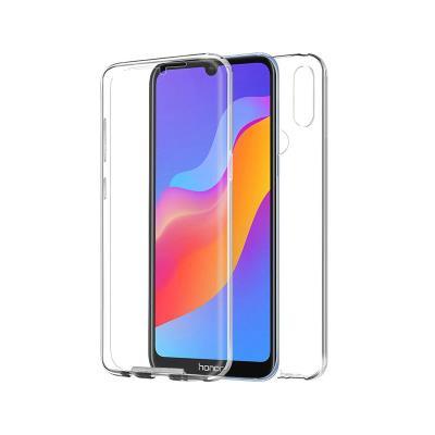 Capa Silicone Frente e Verso Huawei Y6/Y6 Pro Transparente