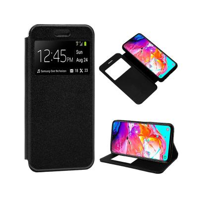 Capa Flip Cover Samsung Galaxy A70 A705 Preta