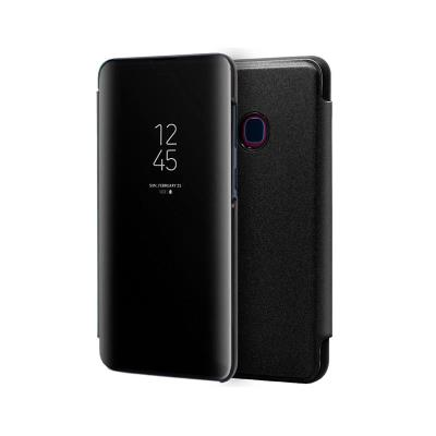 Funda Clear View Samsung Galaxy A20e A202 Negra