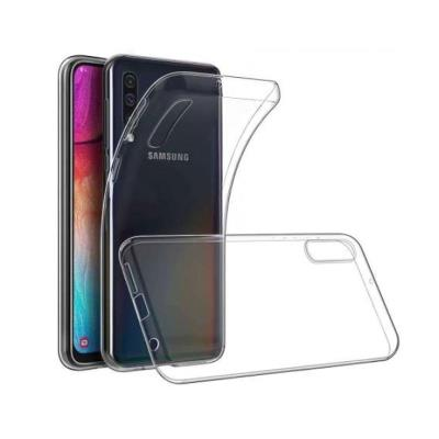 Silicone Cover Samsung Galaxy A70 A705 Transparent