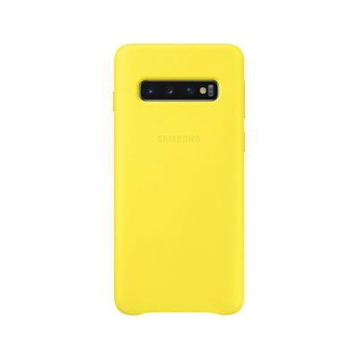 Capa Silicone Original Samsung Galaxy S10 Amarela (EF-PG973TYE)