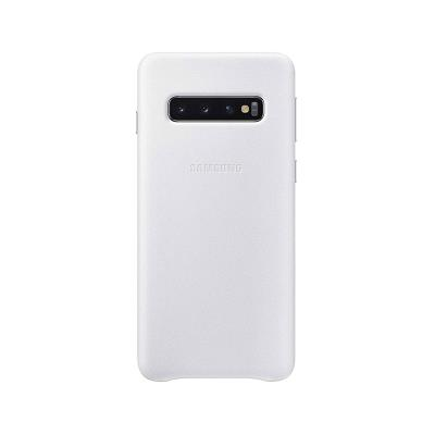 Leather Cover Original Samsung Galaxy S10 White (EF-VG973LWE)