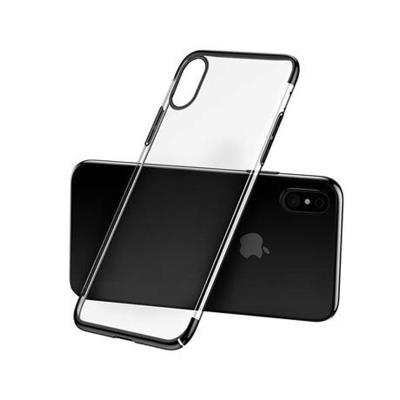 Capa Baseus Glitter iPhone X/XS Transparente/ Preta