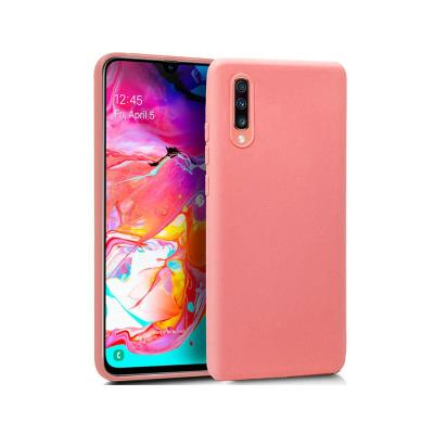 Silicone Cover Samsung A70 A705 2019 Pink