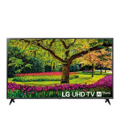 "TV LG 55"" Ultra HD 4K Preta (UK6300PLB)"
