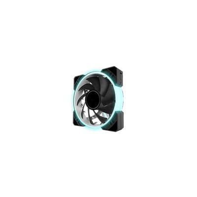 Fan RGB RING 120MM Black(FXR16-120L3P4MW)
