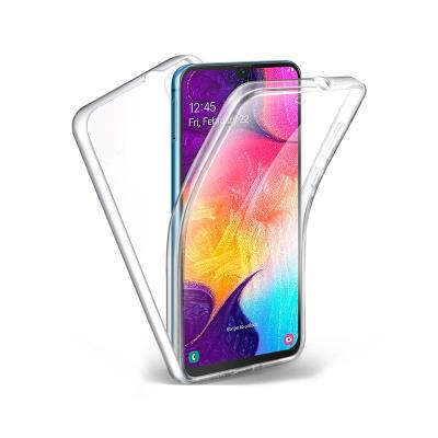 Silicone 360º Cover Samsung Galaxy A10 A105 Transparent