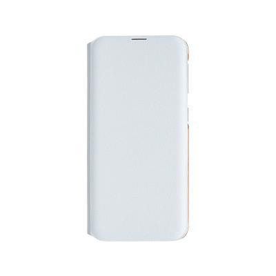 Capa Flip Wallet Original Samsung Galaxy A20e Branca (EF-WA202PWE)