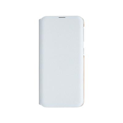 Flip Wallet Cover Original Samsung Galaxy A20e White (EF-WA202PWE)